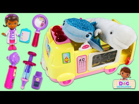 Finding Dorys Destiny and Bailey Visits Doc McStuffins Toy Hospital For A Check Up!