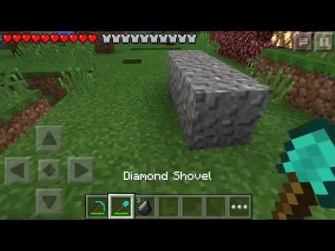 How To Get Unlimited Flint on survival in Minecraft PE