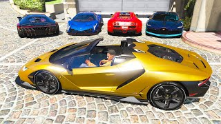 GTA 5 Stealing Super Cars with Franklin #9 (GTA 5 Expensive Cars)