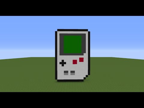 Minecraft Tutorial EP.24: How To Make A Gameboy Statue