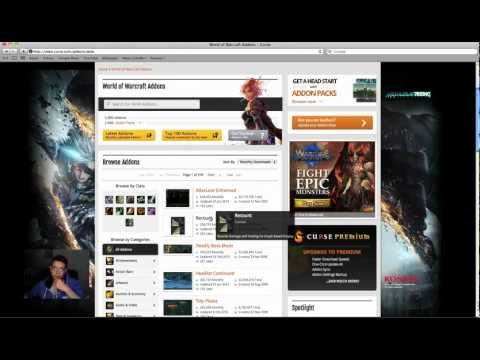 How to add WoW addons for PC and MAC