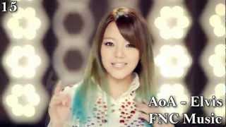 Top 20 Kpop Chart - September 2012 (Week 1)