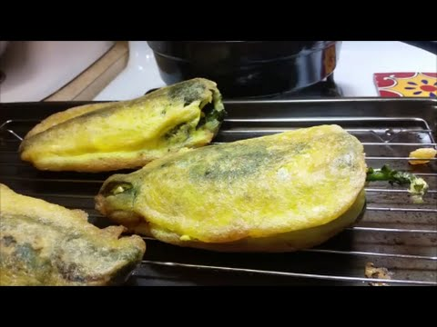 Chiles Rellenos (Mexican Style Stuffed Peppers)