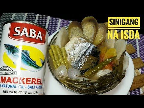 Sinigang na Mackerel  | Fish Sinigang | Sinigang na Isda | Fish in can (fish recipe)