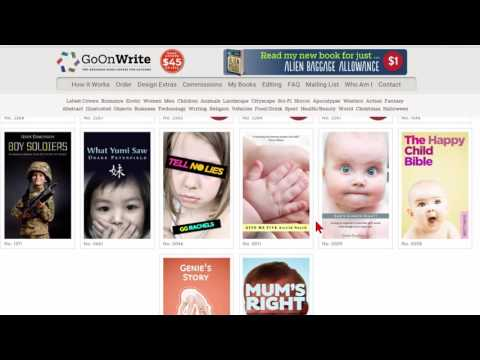 Create covers for your kindle and print books