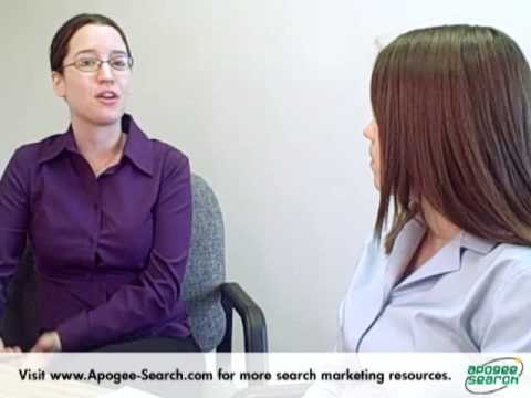 Google Website Optimizer Tips Video From Apogee Search