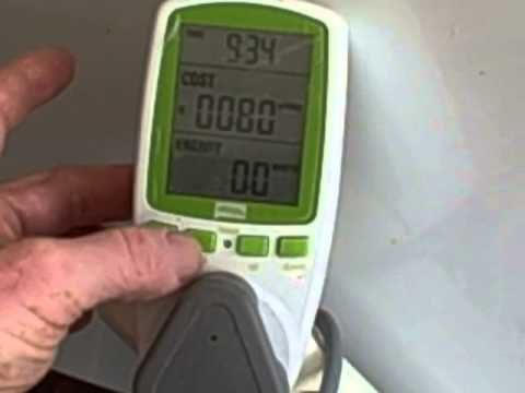 Cut your electricity bill by finding out how much each household appliance uses