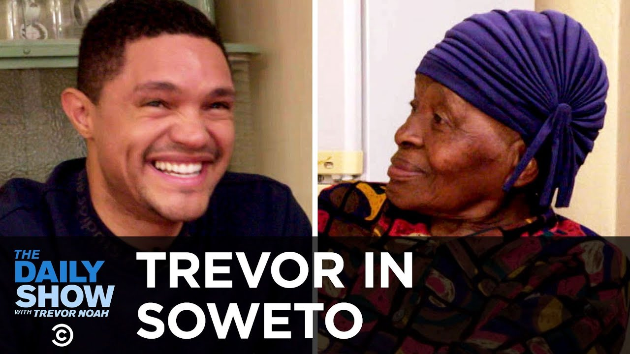 """Trevor Chats with His Grandma About Apartheid and Tours Her Home, """"MTV Cribs""""-Style 