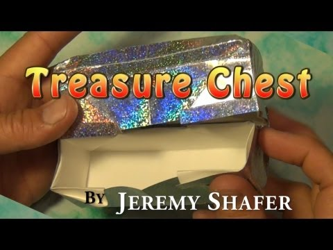 Origami Treasure Chest by Jeremy Shafer