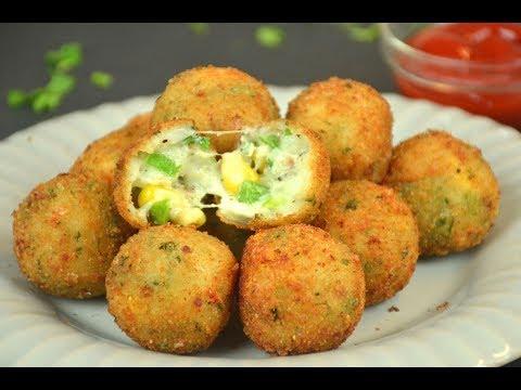 Corn Cheese Balls | Easy Starter Recipe