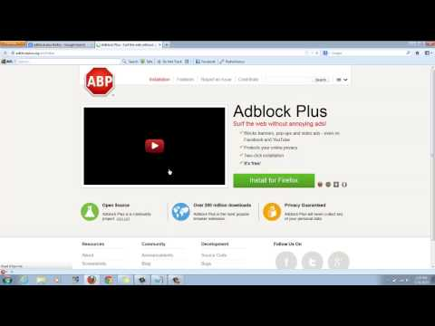 How To Get Rid of Ads Off Youtube (with Firefox, iE, Google Chrome, and Safari)