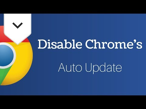 How To Disable Automatic Google Chrome Updates