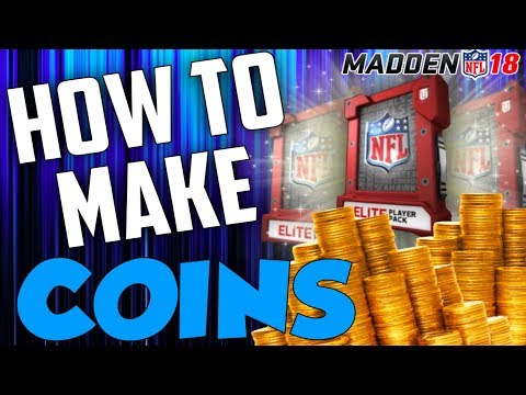 MADDEN 18 EASY COIN GLITCH!! | HOW TO MAKE UNLIMITED COINS IN MADDEN 18 | MAKE 1 MILLION COINS FAST