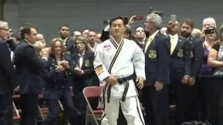 Chief Master GK Lee 9th Degree Testing
