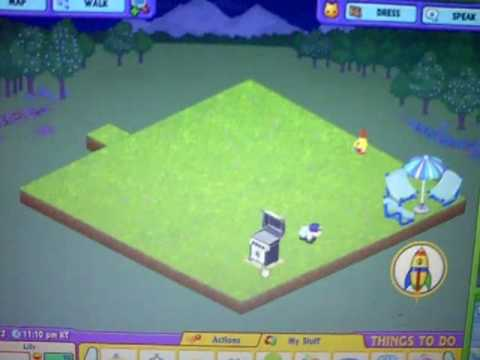 How to Desgn A WebKinz Den & Outside yard