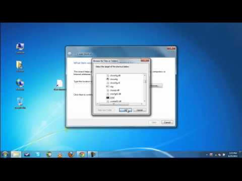 Create a Elevated Command Prompt Shortcut in Windows 7