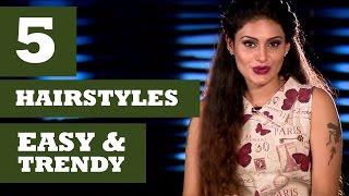 Easy & Trendy Hairstyles - Get Stylish With Shanu Suresh(Season 2) - Kappa TV