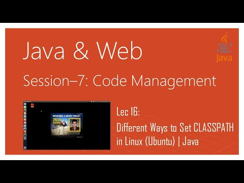 Different Ways to Set CLASSPATH in Linux (Ubuntu) | Java