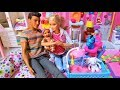 Barbie And Ken Have A BABY! NURSERY! Chelsea Gets Jealous! Barbie Doll Stories - Fun Toys For Kids