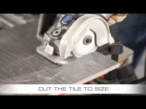 Replacing Ceramic Floor Tile with the Dremel US40 Ultra-Saw