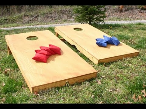 How to Build a Regulation Cornhole Set (REVISED)