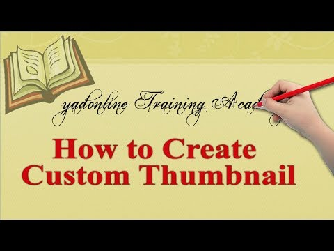 how to create professional custom thumbnail for youtube video in adobe photoshop cc