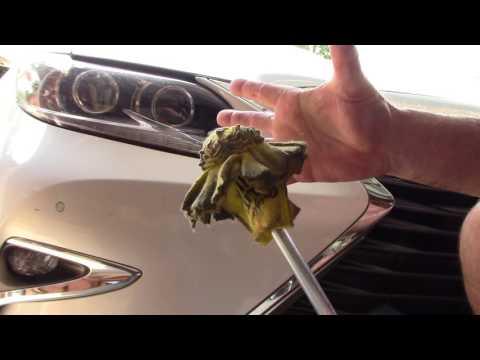 How I Polish Chrome Trim Around A Car Fast!