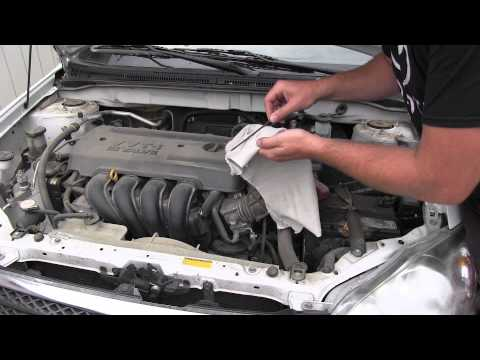 2008 Toyota Corolla Automatic Transmission Fluid Inspection