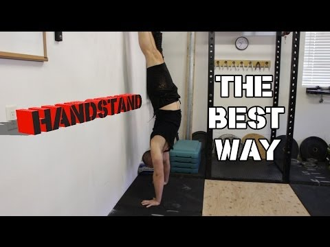 The Best Way To Learn A Handstand