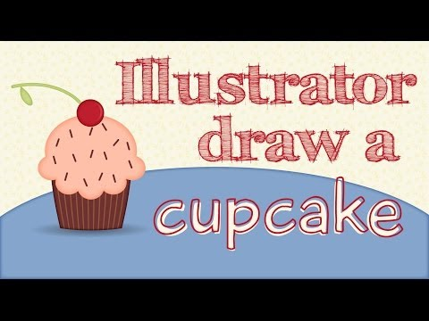 Illustrator - Draw a Cupcake