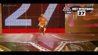 WWE Rey Mysterio RETURNS Royal Rumble 2018! Royal Rumble 2018 Rey Mysterio