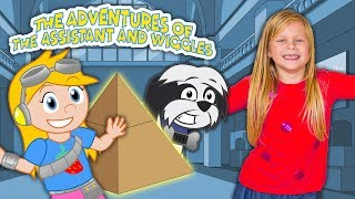 The Adventures of The Assistant and Wiggles Howie at the Museum - Episode 1 TheEngineeringFamily