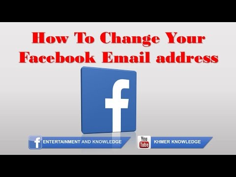 How To Change Your Facebook Email address 2016