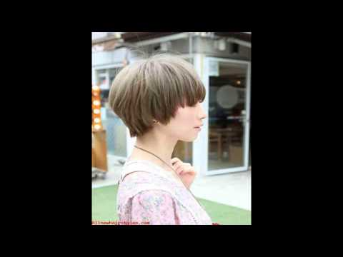 "Beautiful Bowl Cut with Retro Fringe "" Short Japanese Hairstyle for Girls"
