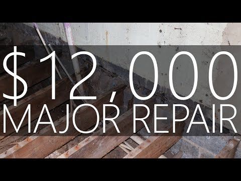 My $12,000 Project House - The Floor is FALLING! - #12