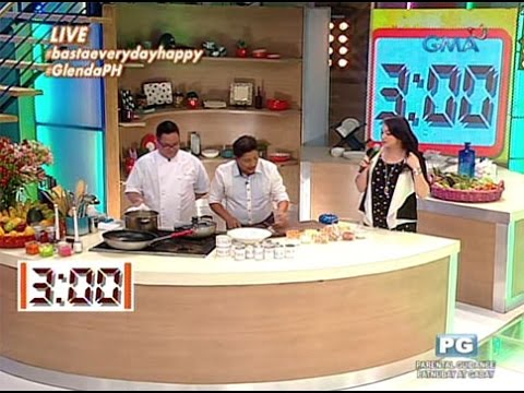 3-minute Lomi recipe by Chef Boy Logro