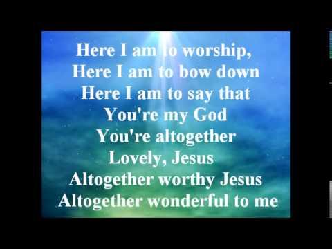 Here I am to worship Heather Hedley