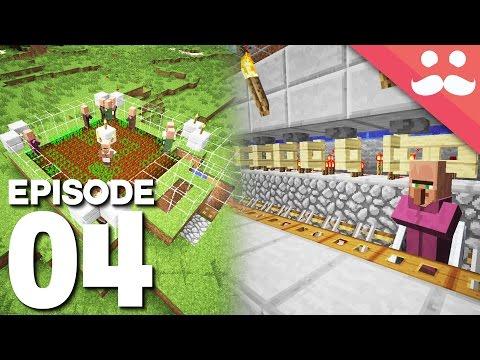 Hermitcraft 5: Episode 4 - Breeders, IRON, Trading Hall!