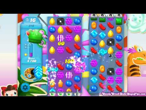 Candy Crush Soda Saga Level 310 No Boosters