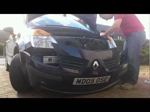 Changing headlights (bulb) on a Renault Modus