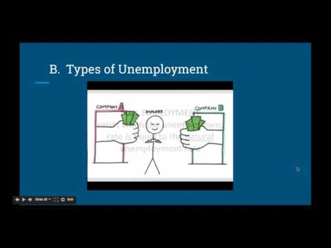 Module 13 Notes: Types of Unemployment & Natural Rate