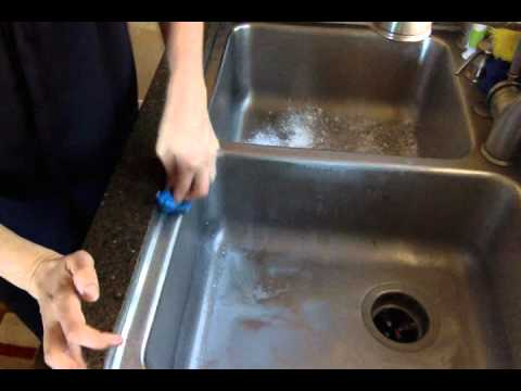 Tips from Tiffany Pociecha- How to clean your stainless steel sink