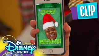 Booker's Christmas Cray | Raven's Home | Disney Channel