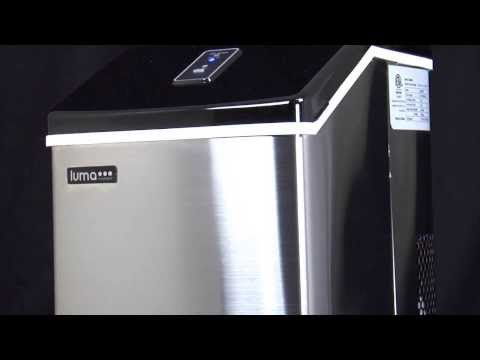 Introducing the Luma Comfort IM200SS Portable Clear Ice Maker