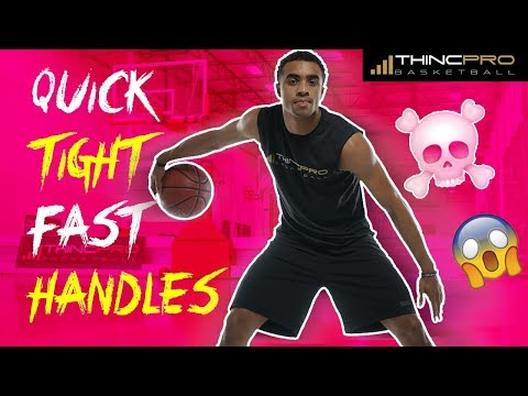 How to: Get QUICK, TIGHT, FAST HANDLES!!! Basketball Dribbling Drills and Crazy Crossover Combos!