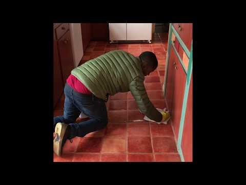 Removing wax from Saltillo tile ( worst case scenarios)