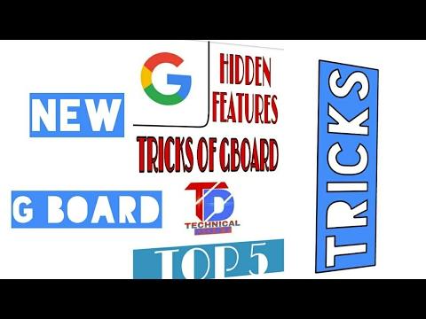 Google Gboard hidden features || google keyboard
