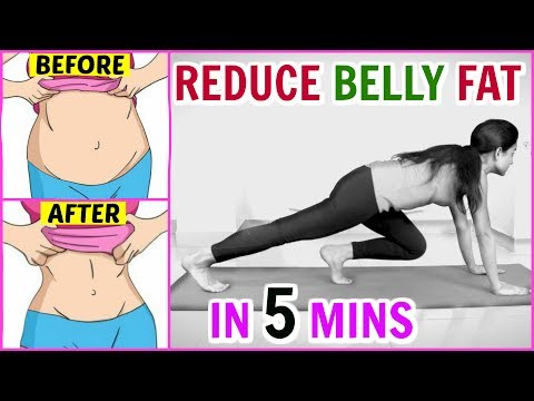 How To Lose Belly Fat at Home - Easy Weight Loss In Hindi | Anaysa