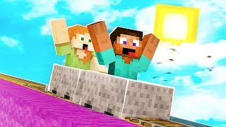 IMPOSSIBLE Minecraft Roller Coaster
