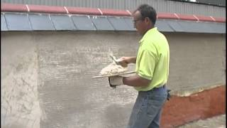 How to Lime Render (external on to solid wall)